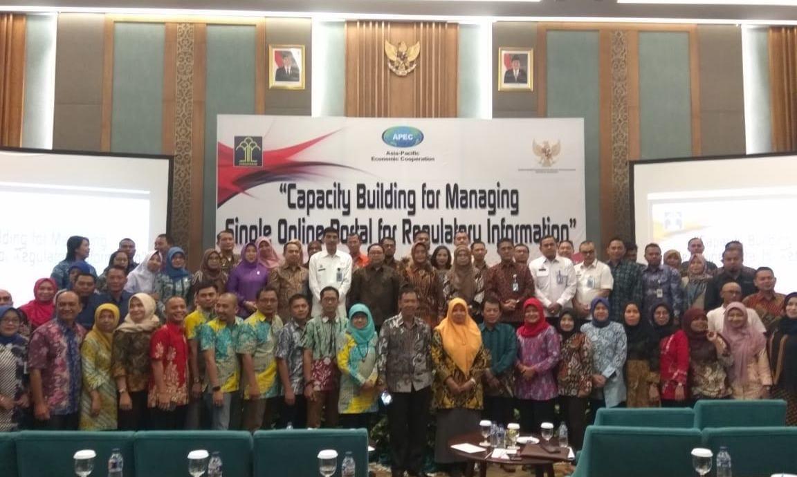 APEC Capacity Building Pengelolaan Single Portal Peraturan Perundang-Undangan